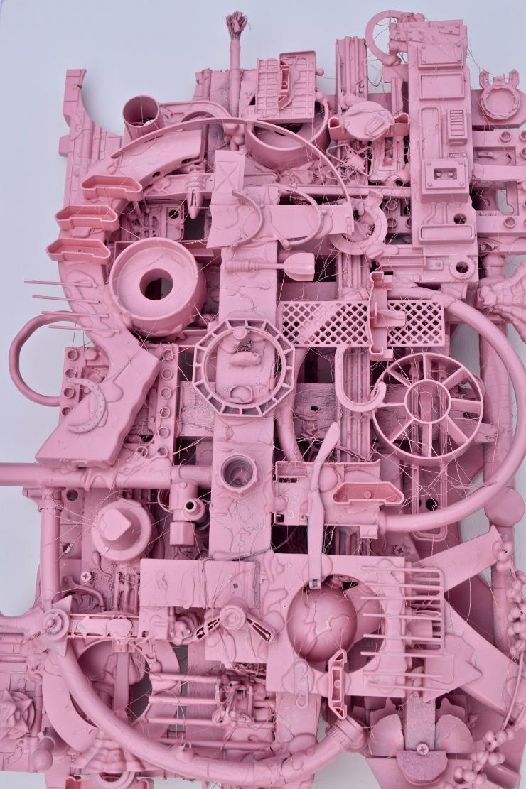 Big Pink (Detail)